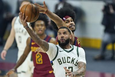 Bucks guard D.J. Augustin , AP photo