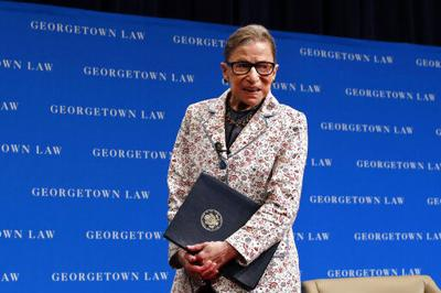 Ginsburg, a feminist icon memorialized as the Notorious RBG (copy)