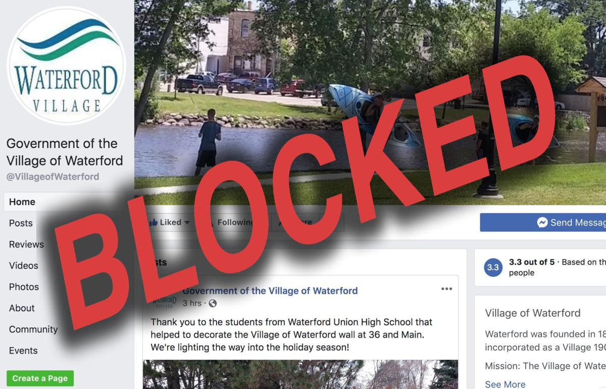 Blocked by Waterford