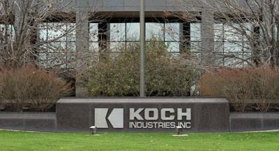 Koch Industries sign