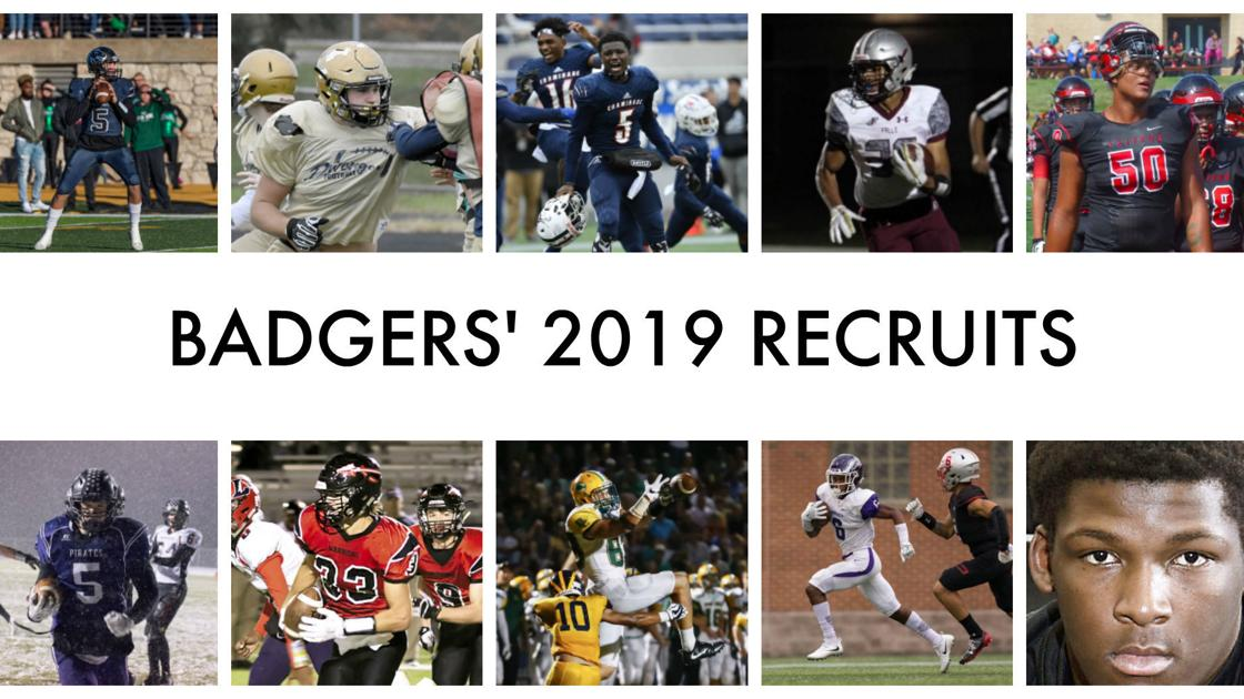 Get to know the Wisconsin Badgers' 2019 football recruiting