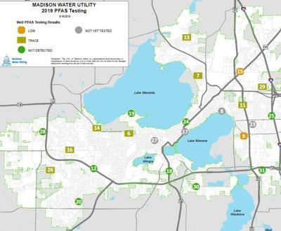 PFAS testing map
