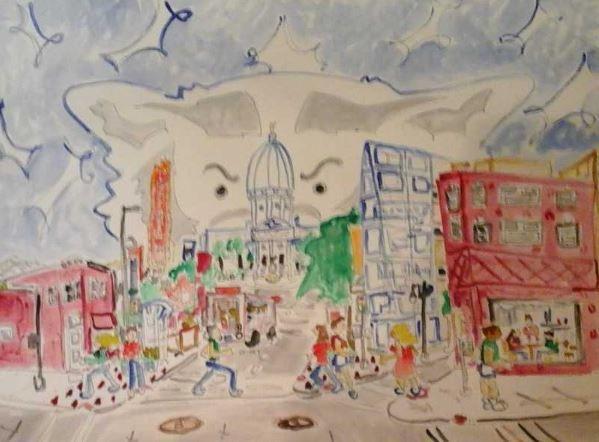 Watercolor by Paul Briskey PAUL BRISKEY