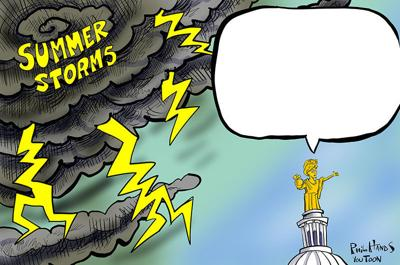 Summer storm You Toon
