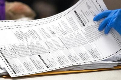Absentee ballots, AP generic file photo