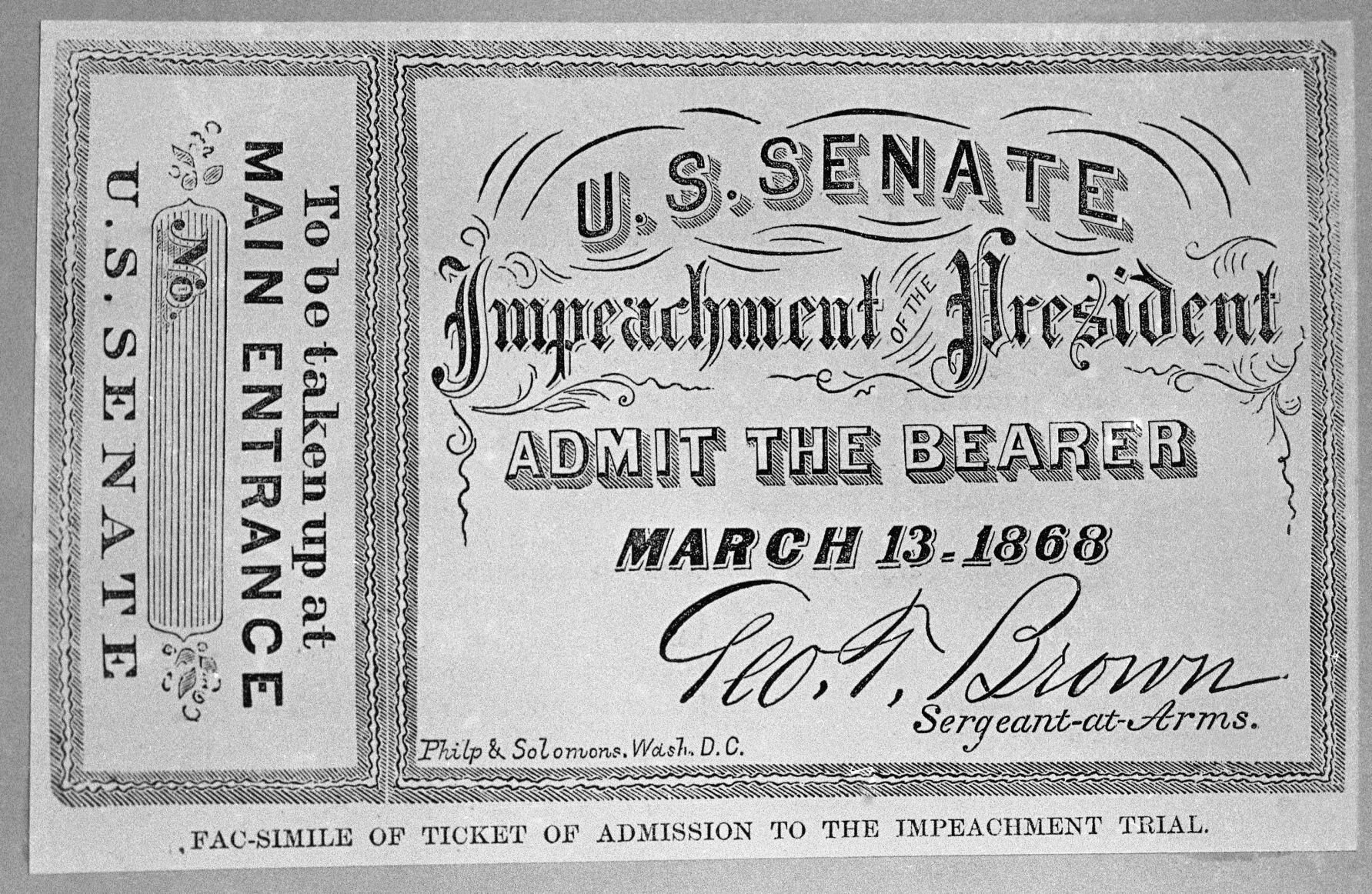 begin impeachment proceedings
