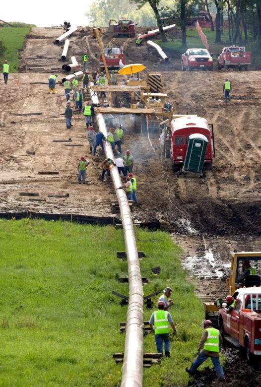 Enbridge oil pipeline