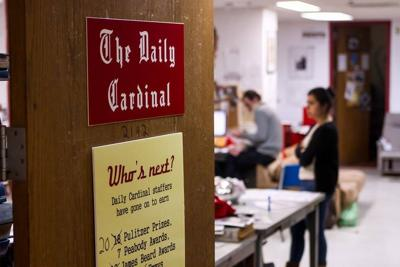 Daily Cardinal office