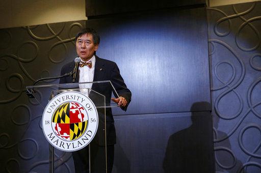 U of Maryland President Wallace Loh, AP photo