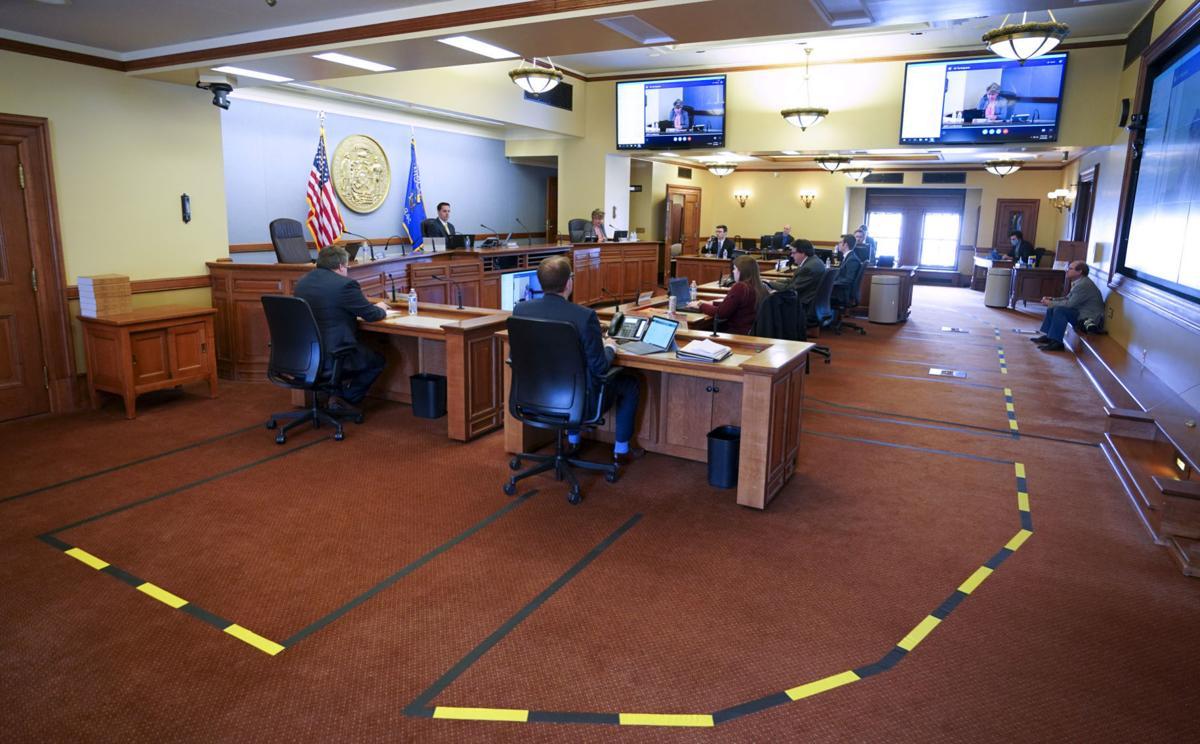 Virtual Senate Session