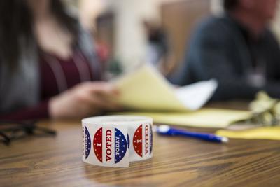 'I Voted Sticker' (copy) (copy)