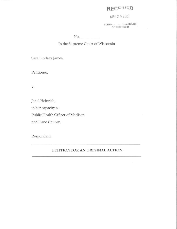 James petition