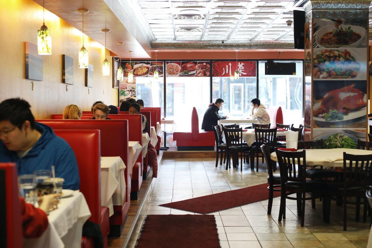 Taste of Sichuan interior