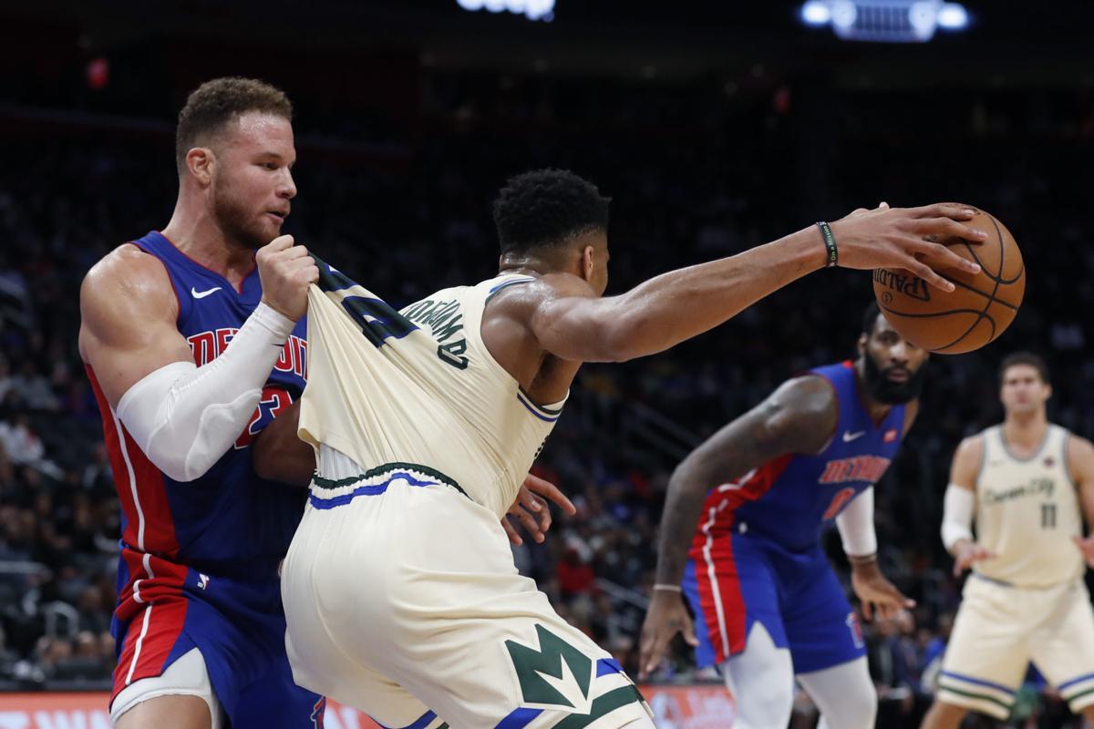Bucks Pistons Basketball