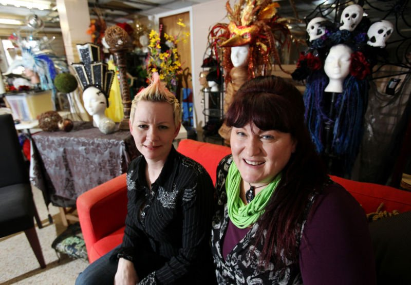 Glitter to Gore owners Michelle Soltis and Dawn Marie Svanoe