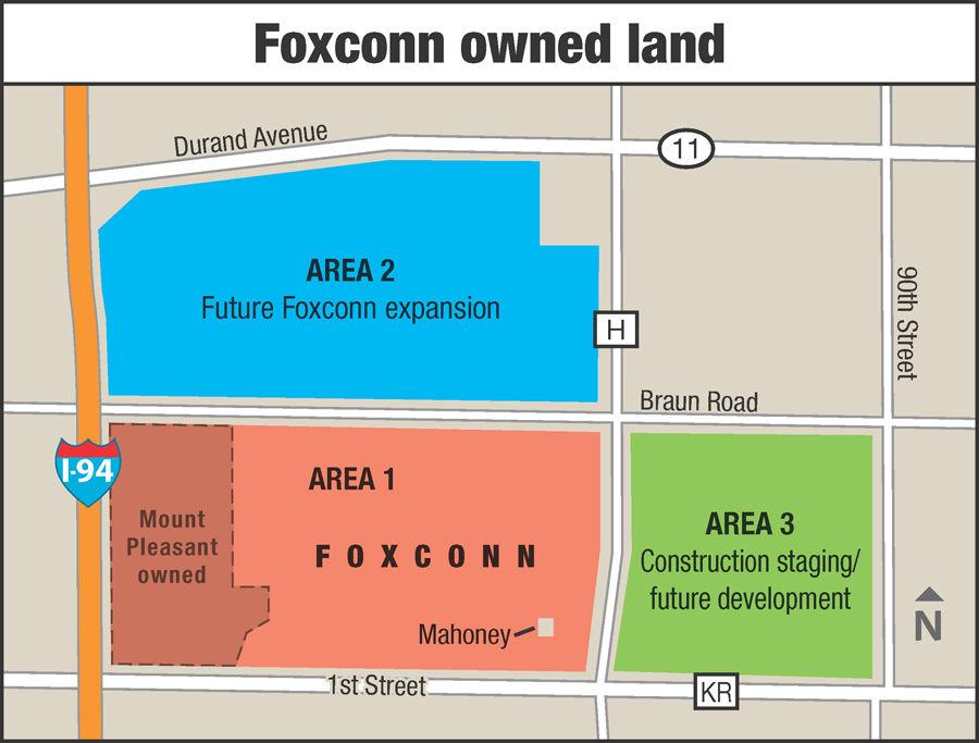 Foxconn land