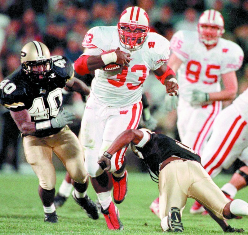 Ron Dayne, UW football vs. Purdue