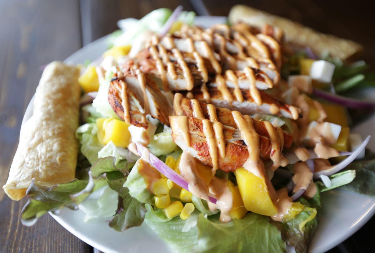 Tapatios mango salad