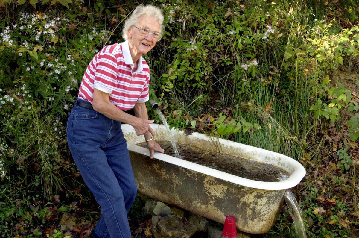 PEARL SWIGGUM AT BATHTUB SPRING