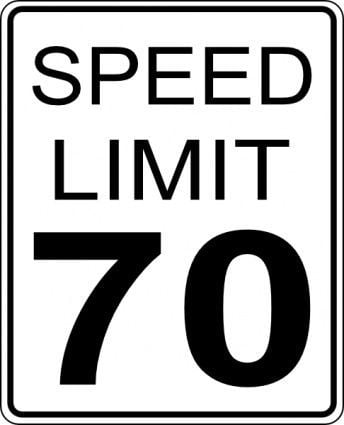 new 70 mph speed limit signs going up on interstates this week
