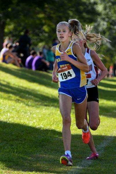 Prep cross country photo: Madison West's Genevieve Nashold