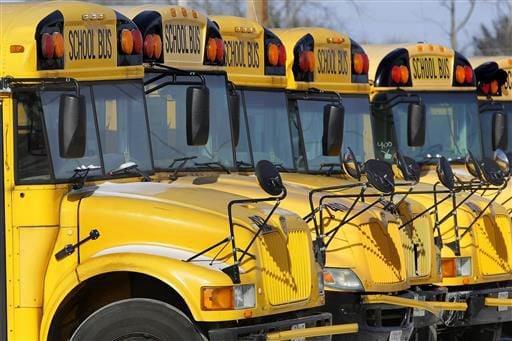 School bus, generic file photo, AP photo, (copy)