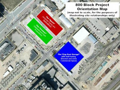 800 Block East Washington Avenue development