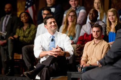 Asked about grim GOP race, Ryan talks policy, not candidates