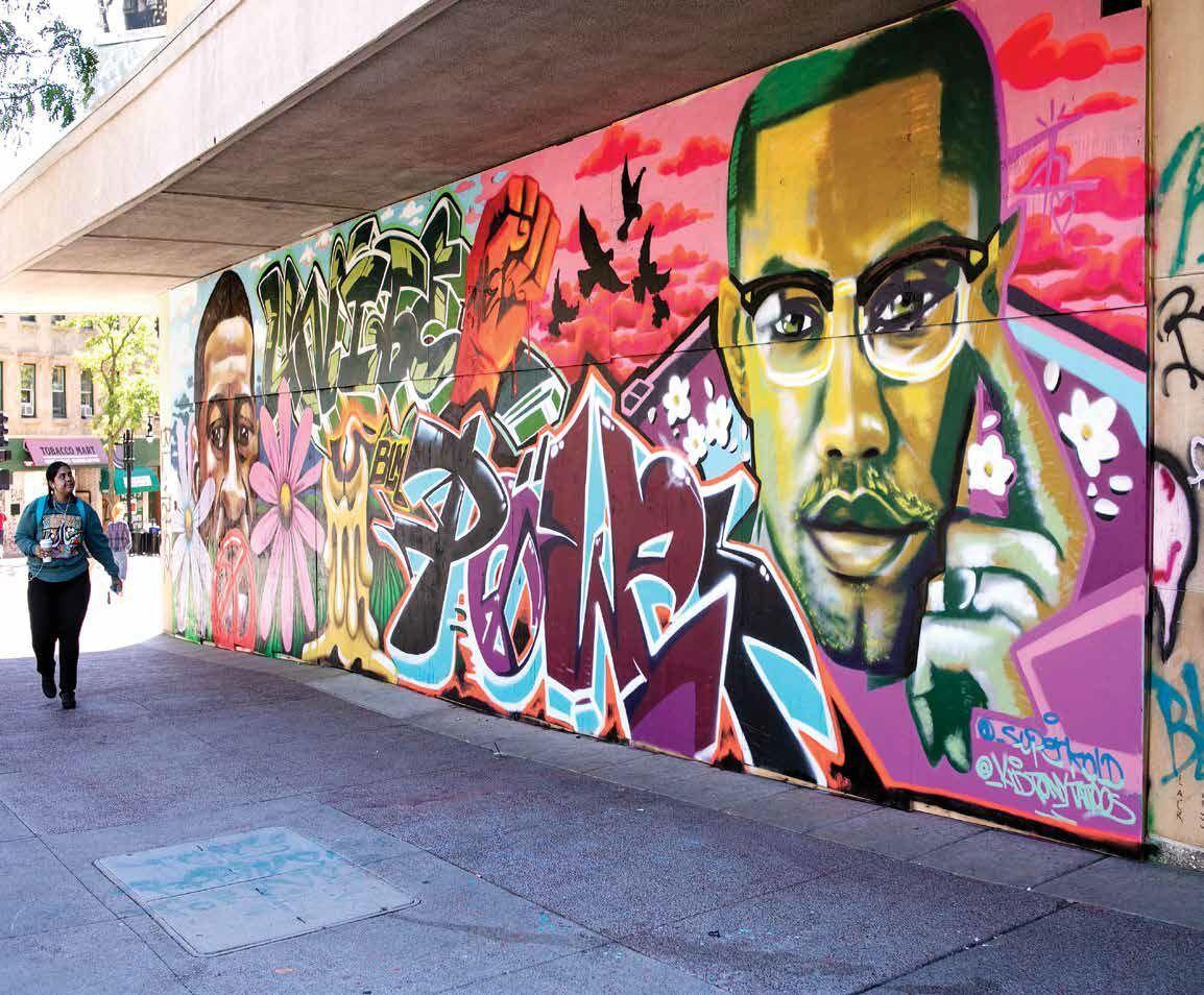 BLM murals book