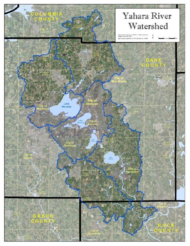 yahara watershed area