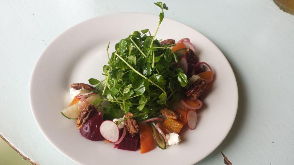 Cow & Quince beet salad