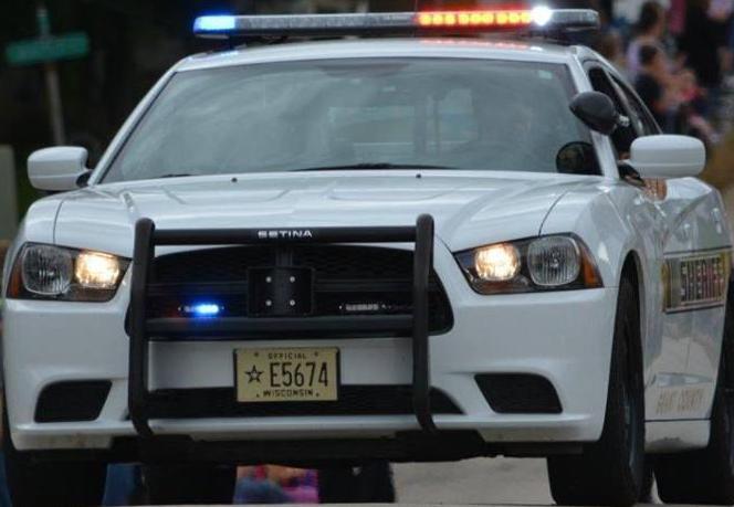 Grant County squad car tight shot