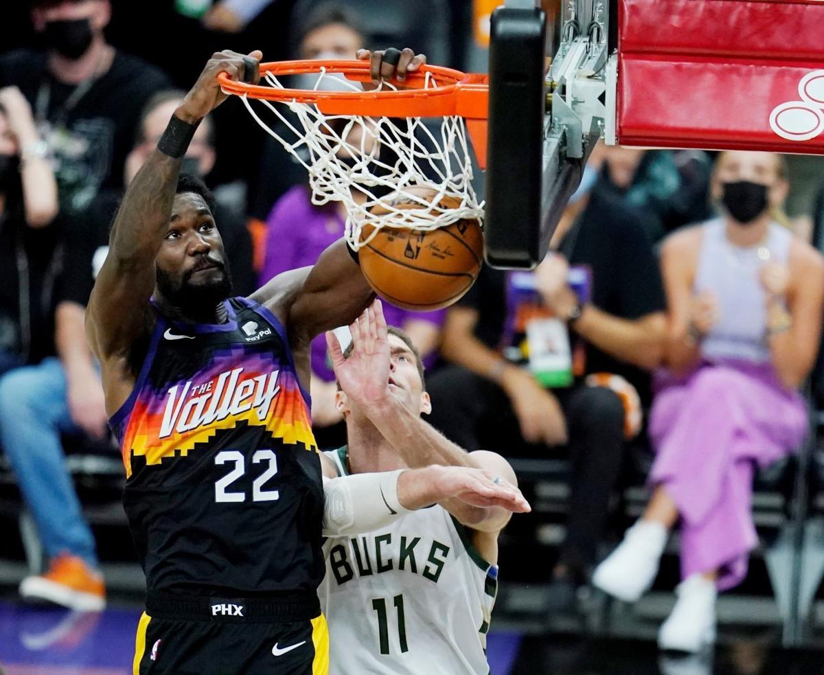 Giannis Antetokounmpo Returns But Chris Paul Suns Overwhelm Bucks In Game 1 Of Nba Finals Basketball Madison Com