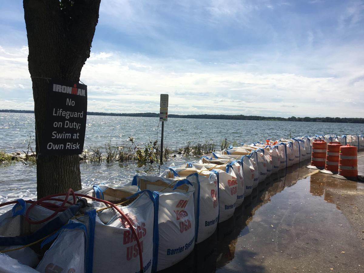 Law Park Ironman swim warning