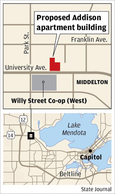 Proposed Addison apartment building
