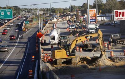 Verona Road under construction, May 2015 Cap Times photo