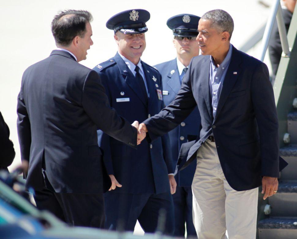 Obama, Walker