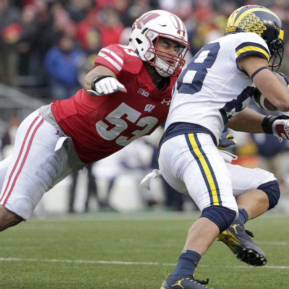 purchase cheap 9e2b2 04beb Former Badgers showcase talents for NFL scouts at UW's Pro ...
