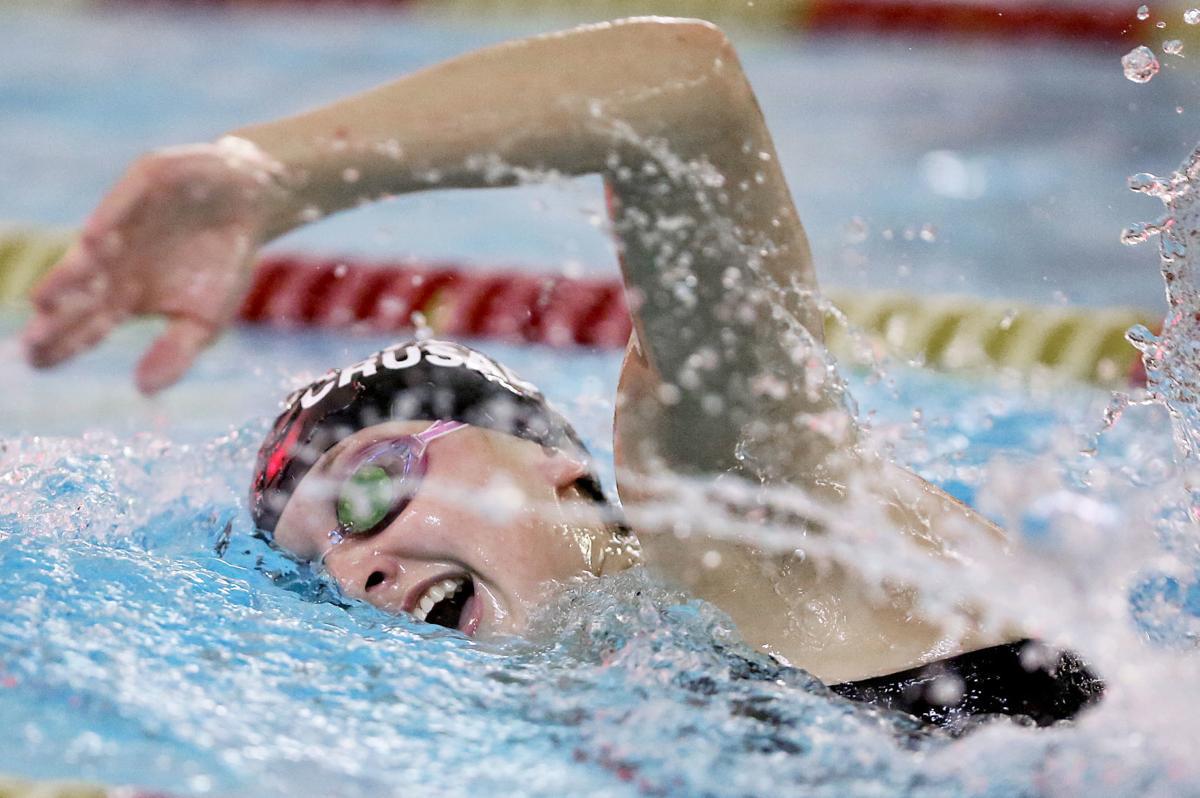 WIAA girls swimming photo: Madison Edgewood's DeeDee Walker