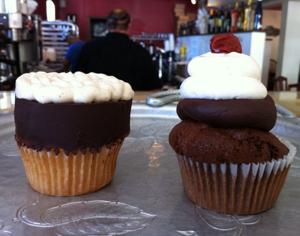 Octoberfest cupcakes from Daisy Cafe