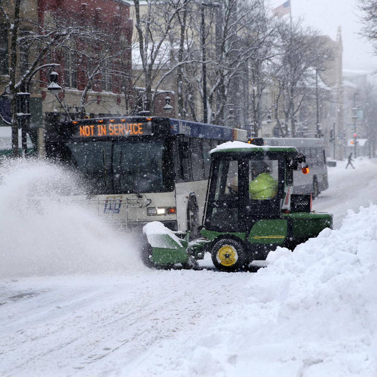 Madison Street Department Finally Gets >> Plowing Of City S Streets Could Take All Day And Night Snow