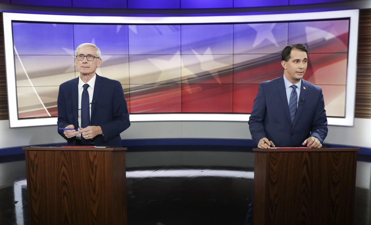 Scott Walker, Tony Evers square off in race for governor