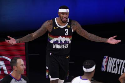 Torrey Craig with Nuggets, AP file photo