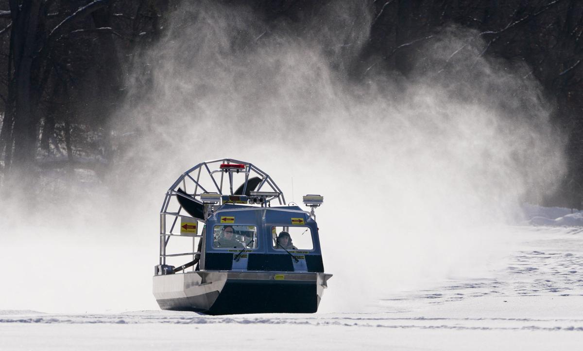 Madison Fire Department airboat (copy)