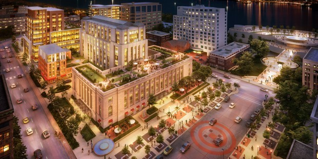 judge Doyle Square rendering, JDS Development