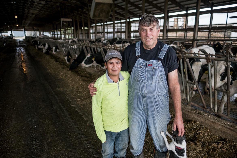 As Trump disparages immigrants, farmers build bridges