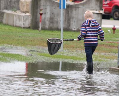 St. John's School flooded