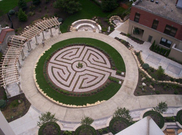 St. Mary's labyrinth