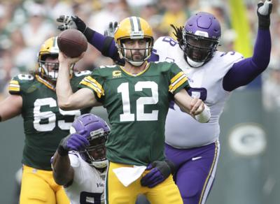 Aaron Rodgers - Packers vs. Vikings