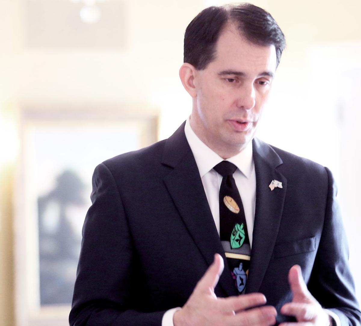 Scott Walker main: sees a bright future after difficult two years